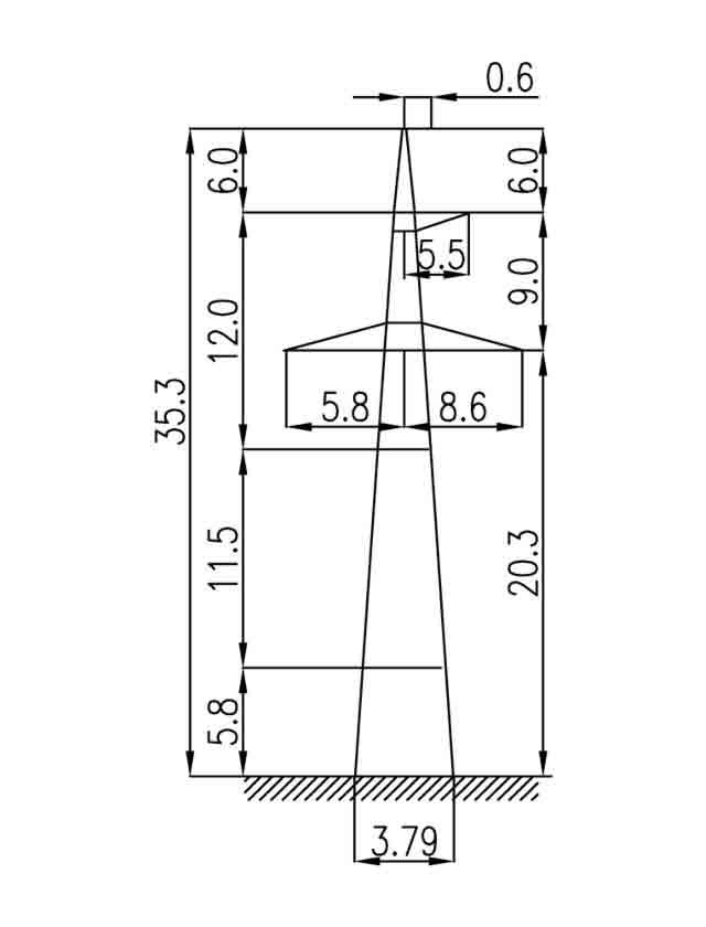 3П330-1-5.7 промежуточная опора