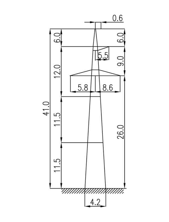 3П330-1 промежуточная опора