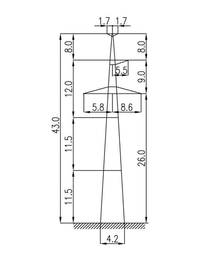 3П330-1Т промежуточная опора