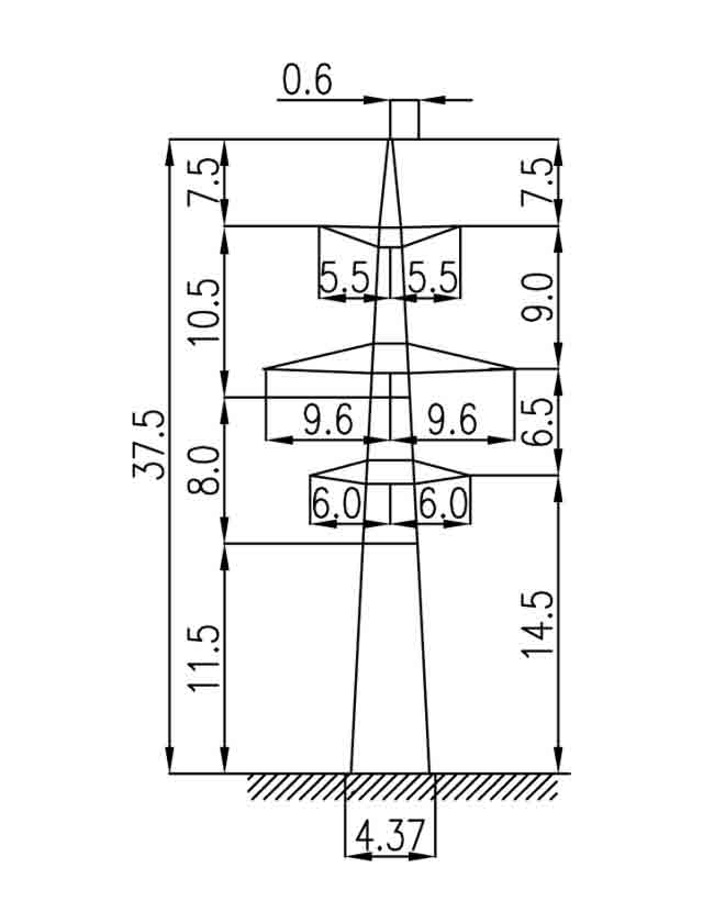 3П330-2-11.5 промежуточная опора