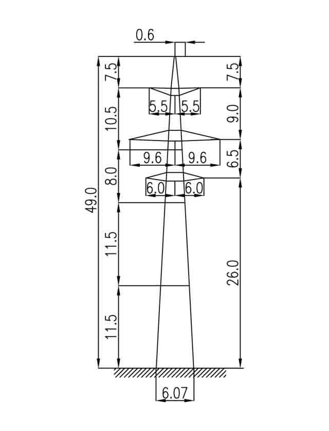 3П330-2 промежуточная опора