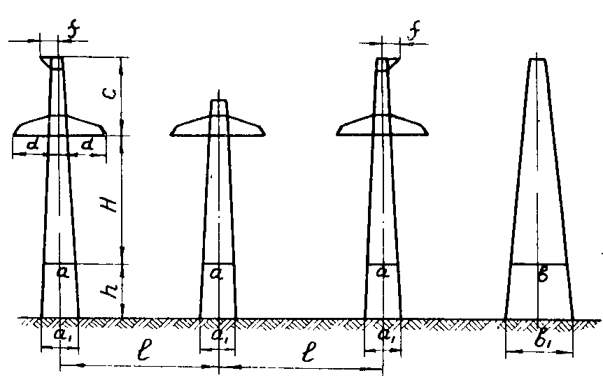 К220-2 концевая опора