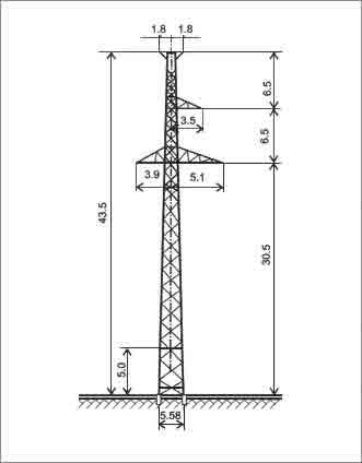 П220-3Т+5 промежуточная опора