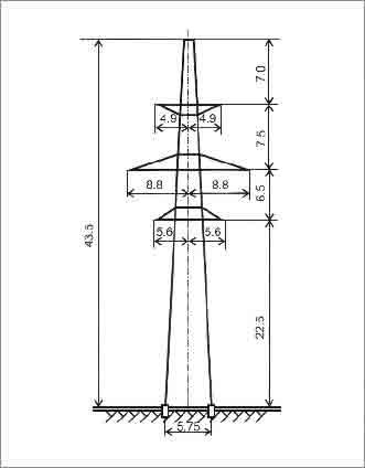 П330-2 промежуточная опора