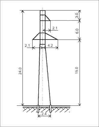 ПС110-5 промежуточная опора