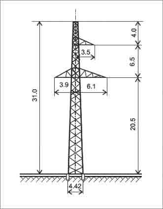 ПС220-3 промежуточная опора
