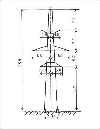 ПС330-2 промежуточная опора