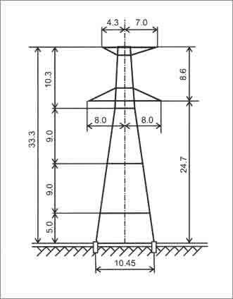 У330-3+14 анкерная опора