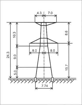У330-3+5 анкерная опора