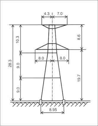 У330-3+9 анкерная опора