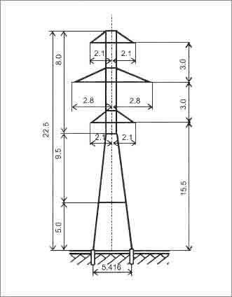 У35-4+5 анкерная опора