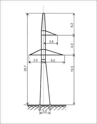 УС110-5 анкерная опора