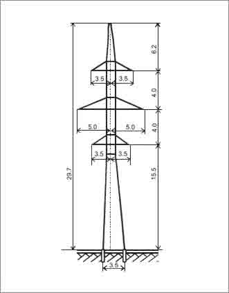 УС110-6 анкерная опора