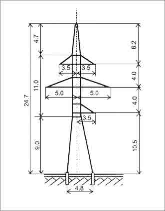 УС110-7 анкерная опора