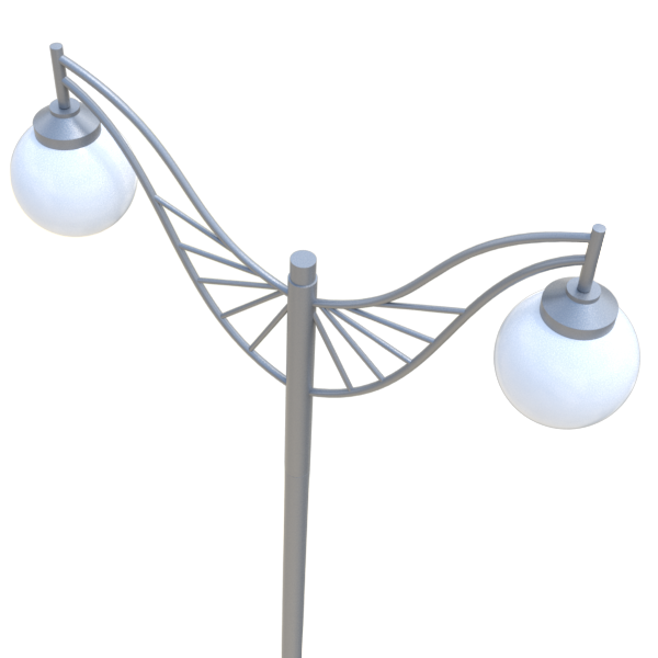 Декоративная 2опора освещения